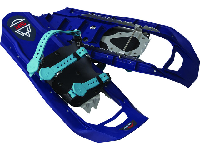 MSR Shift Raquetas de nieve Niños, tron blue